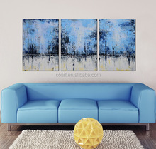 Wall Decor Asli Modern Abstrak Art Minyak Lukisan