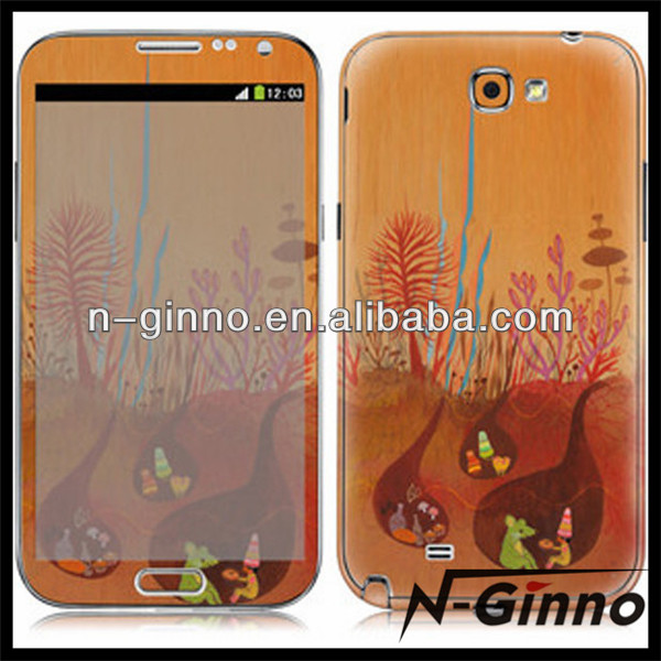 Vinyl protective skin sticker for samsung galaxy note 3