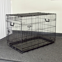 Portable Metal Folding Pet Dog Cages