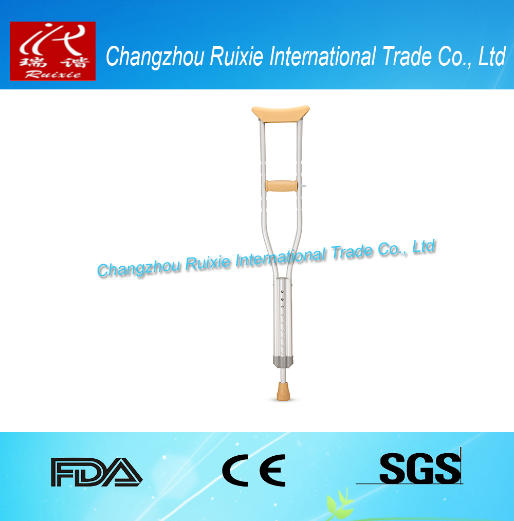 TG Tools manufacturer offset handle cane with 4-winged elbow crutch Customized