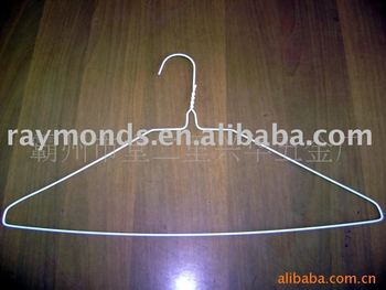 powder coated wire hanger for simply laundry