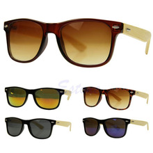 Hot Bamboo Sunglasses Wooden Wood Mens Womens Retro Vintage Summer Glasses