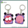 Promotional gift custom rubber keychain