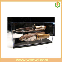 Eco-friendly Acrylic Knife Display Cases