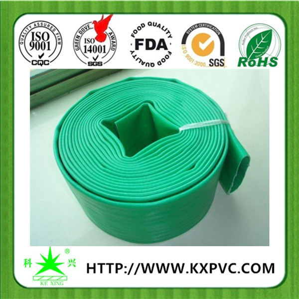 Flexible cheap 12 inch soft pvc layflat duct pipe