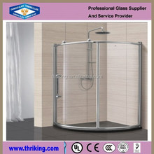 Thriking 2016 China interior decorative 6m acid etched glass manufacturer