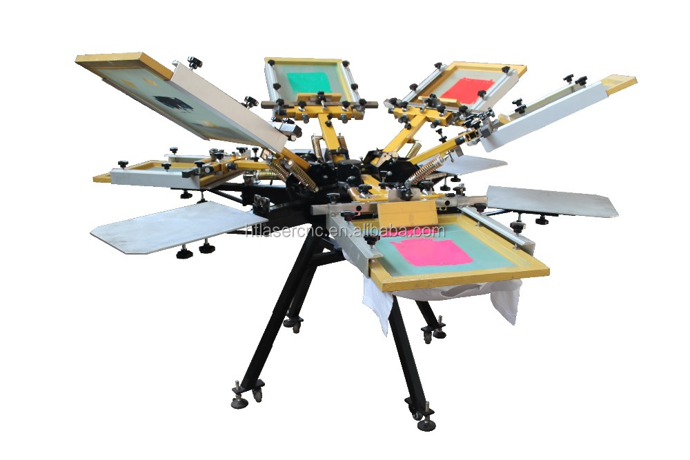 buying a screen printing machine