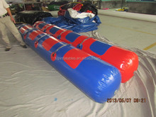inflatable water games racing boat, inflatable water boat