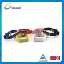Fancy silicone rubber wrist bands / bracelets en silicone wristbands