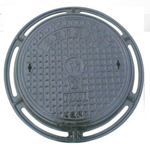 customized ductile iron manhole cover from casting foundry