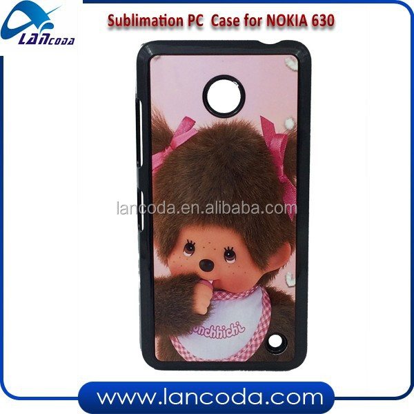 New models sublimation printing phone case for Nokia 630 cell phone cover
