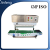 Plastic Film Continuous Band Sealer with date print sealing machines
