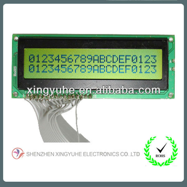 lcd panels 2002 outline size:100*39*9.0mm