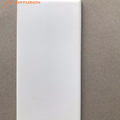 white matt glazed ceramic wall tile 75x150 3x6 inch
