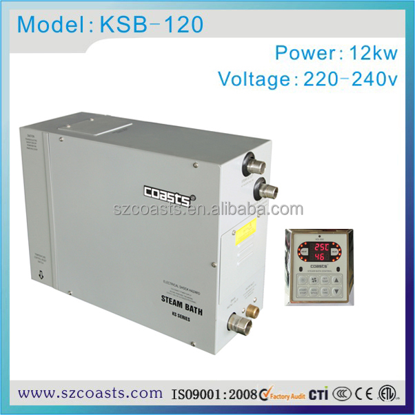 CE approved coasts KSB commercial use electric steam generator 3-24kw
