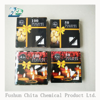 Alibaba hot sale 8 hour tealight candle white tea light for India Diwali