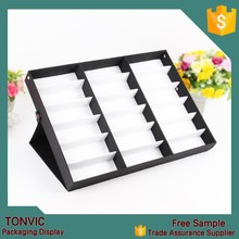 high quality 18pcs eyewear display stand holder case cheap price