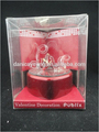 Miniature best glass animals figurines for valentine gift use