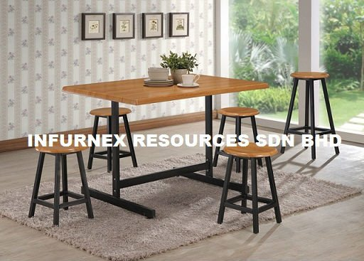 restaurant table, dining table, restaurant furniture, stool