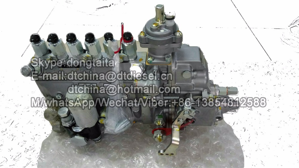 Original excavator engine high pressure fuel pump 101609-3760, 101609-3750 for KOMATSU PC220-6