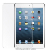 Best price for ipad tempered glass screen protector full cover with 2.5D design