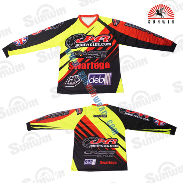 Wholesale Motorcycle Jersey Racing Shirts BMX Jersey