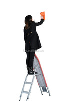 2015 worldwide market folding ironing step ladder with 100% cotton cover IB-6DN