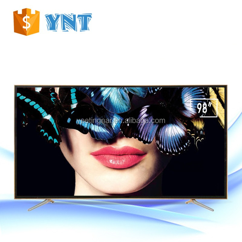 "Factory Wholesale 65""/70""/80""/98-Inch 4K Ultra HD 120Hz Smart LED TV 100 inch tv for sale"