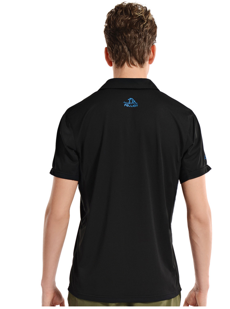 Wholesale custom logo coolmax lycra polo shirt buy for Custom printed polo shirts cheap