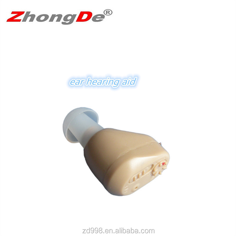 Medical Instrumentation in ear listening rechargeable hearing aid devices