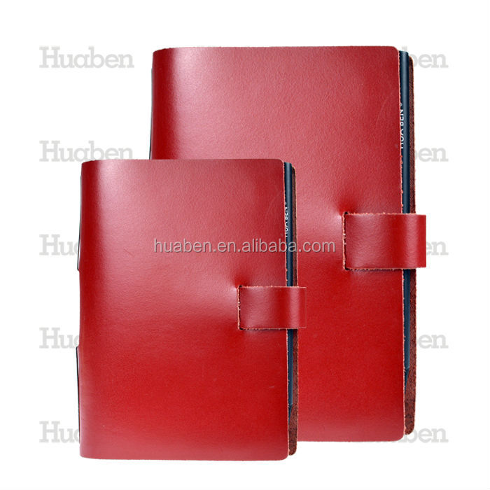 2016 cheap a4,a5 real sprial leather notebook manufacturer