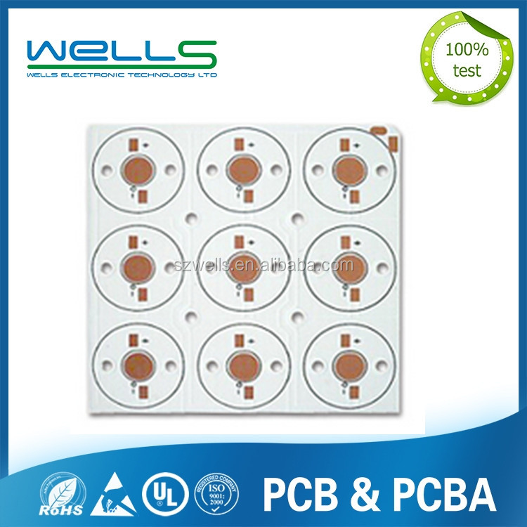 Top customized electronic led aluminum pcb printed circuit mcpcb board manufacturers