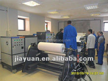 Fully automatic hot melt double side casting adhesive tape lamination coating machine