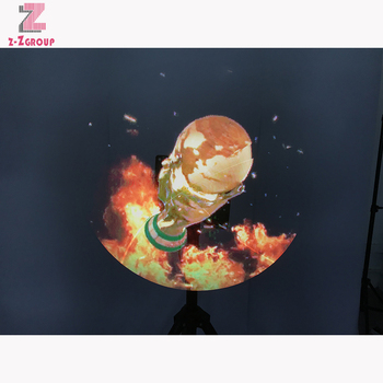 LED 3D fans play HD picture and video No projection wifi version advertising holograme indoor wall mounted/floor stand