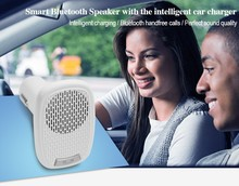 Bluetooth Mini Speaker With Car Charger Mini Music Speaker for car and phone
