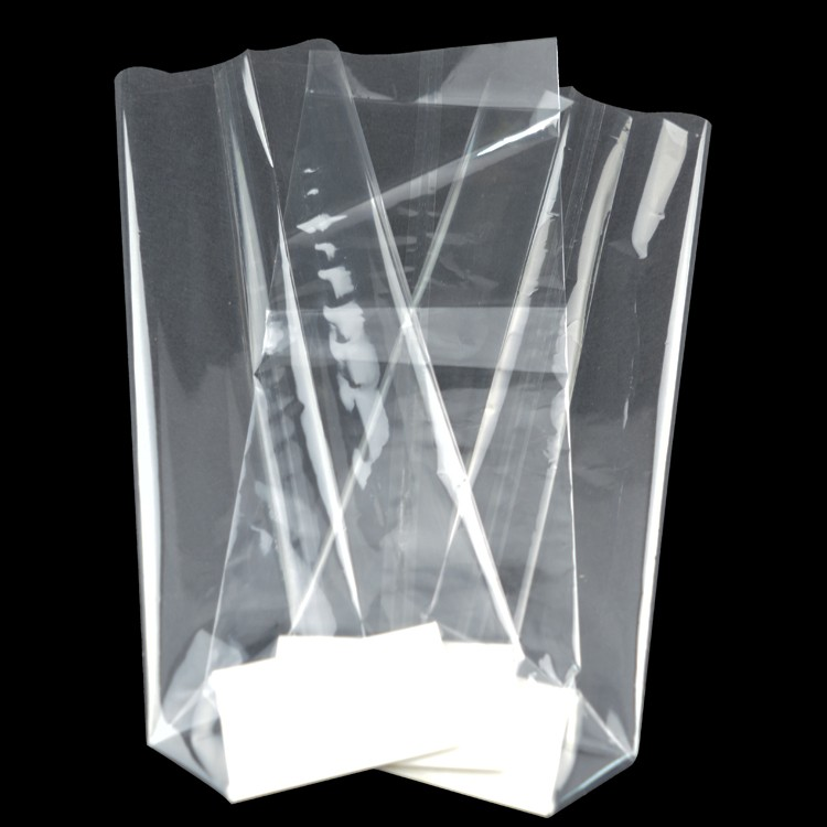 transparent opp plastic dry fruit packaging bags without printing