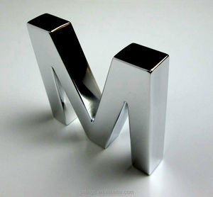 Custom Designed Small stainless steel Metal Sign Letters