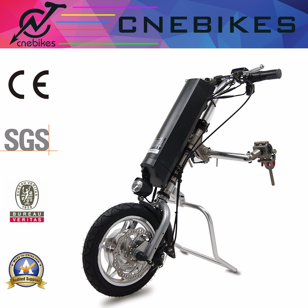electric wheelchair attachment handcycle