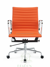Mid Back Incredible Chrome Executive Ripple Office Chair