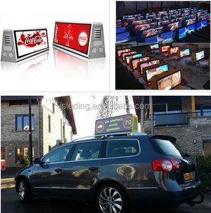Full colour taxi top led display P5 outdoor
