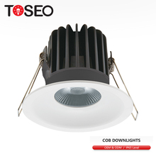 Cut out 80mm 10w IP44 bathroom shower rated led recessed downlight cob light