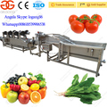 Hot Sale Industrial Fruit Washing Machine with Drying Fruit Machine
