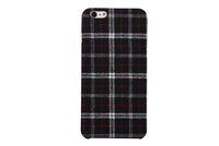 2016 High Quality England Style Case For iPhone 6/6s Cloth PC Rubber Back Cover Case