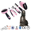 2015 Wholesale Popular Pet Brush Dog Leash 5 In 1 Kit Pet Grooming Products