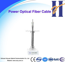 Power fiber optic cable OPGW 24 core, 48 core optic fiber cable