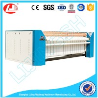 2016 Top Sell!1 roller bed sheet steam laundry ironer machine 2500mm for sale