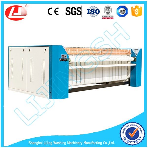 2017 Top Sell!1 roller bed sheet steam laundry ironer machine 2500mm for sale