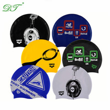 wholesale Customized Logo Swim Caps Silicone Swimming Caps
