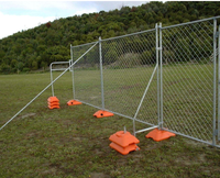 Canada cheap fencing panels for construction sites temporary