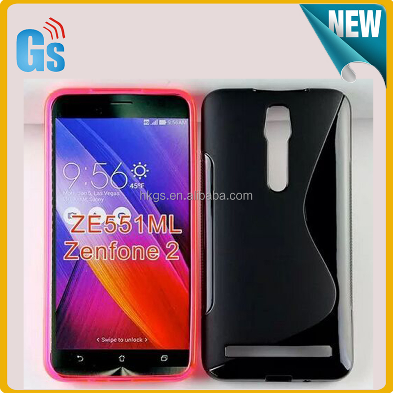 Candy Jelly Soft Gel TPU For Asus ZenFone 2 ZE551ML ZE550ML Case Cover